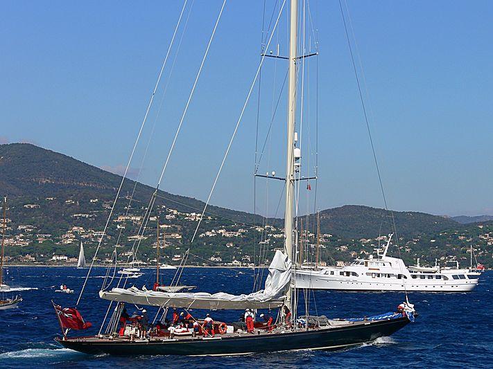 SHAMROCK V yacht Camper & Nicholsons Shipyard