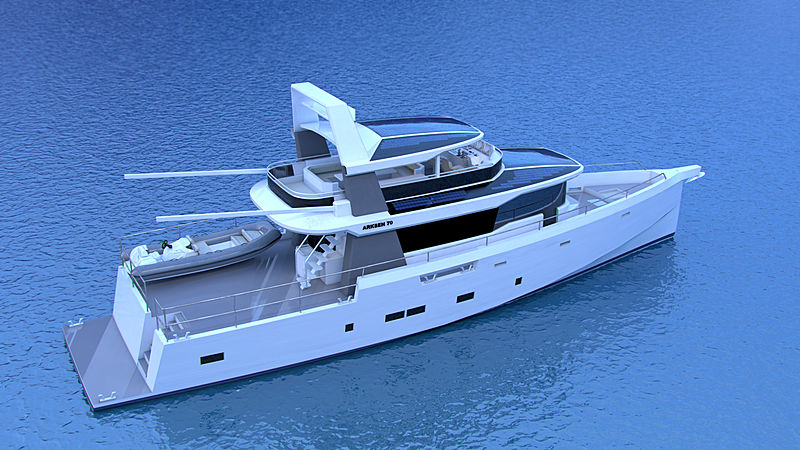 Arksen 70 yacht project