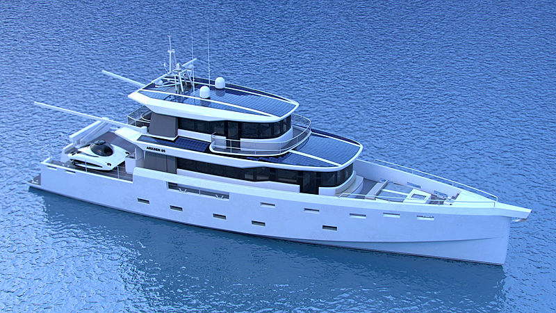 Arksen 85 yacht project