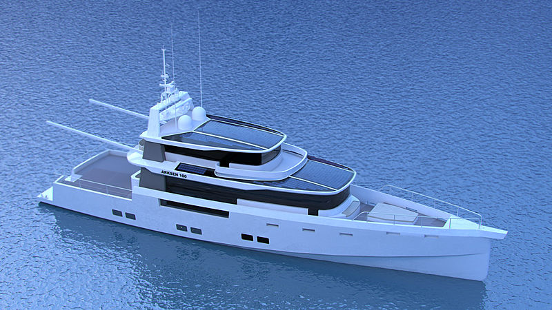 Arksen 100 yacht project