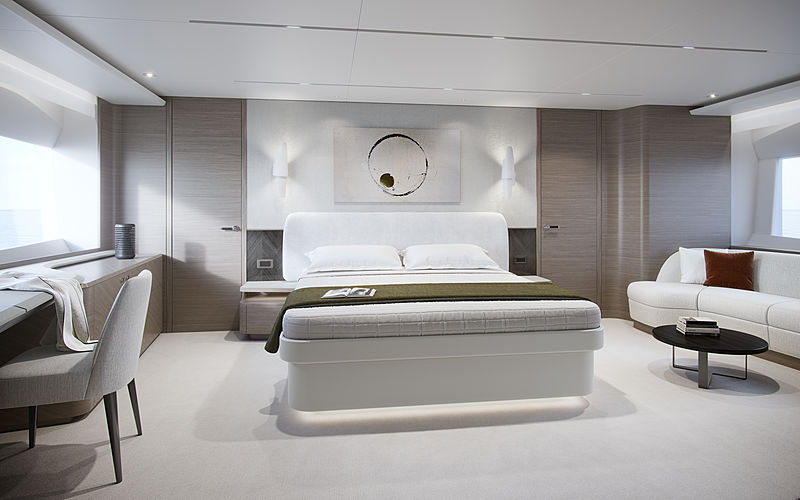Princess X95 yacht interior