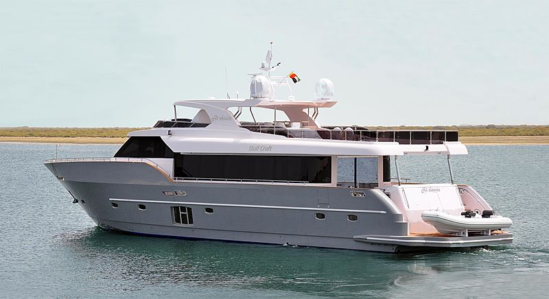HI CLASSIC yacht Gulf Craft