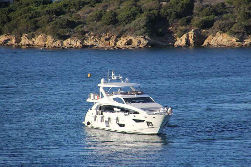 Mr. Francisco yacht cruising