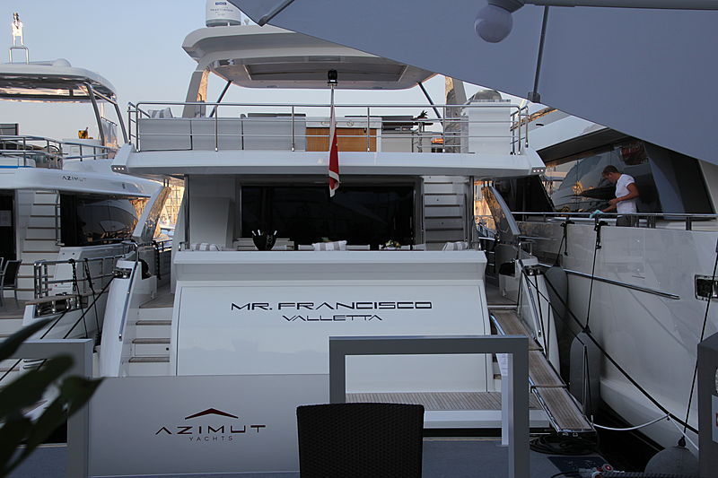 Mr. Francisco yacht in Cannes