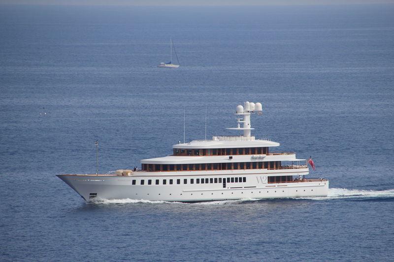 Wedge Too cruising off Monaco
