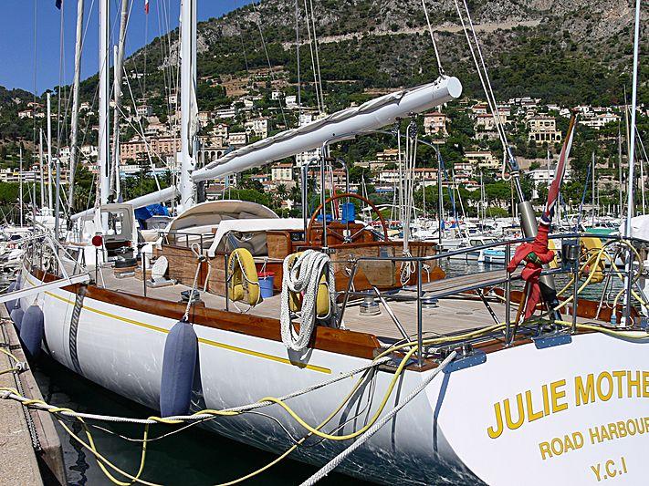 JULIE MOTHER yacht Sangermani