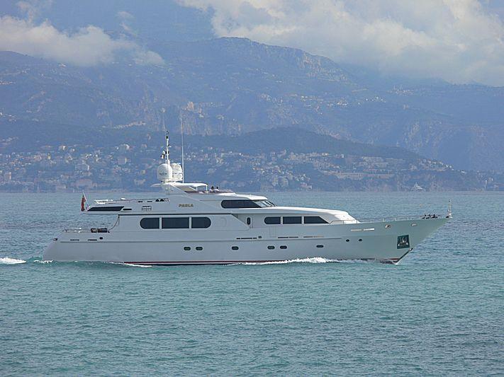 Paola yacht cruising off Antibes