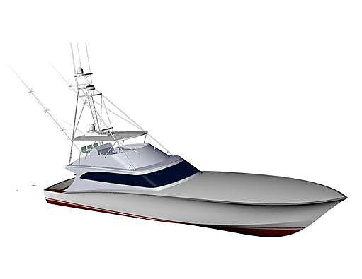 OVATION yacht Jim Smith Boats