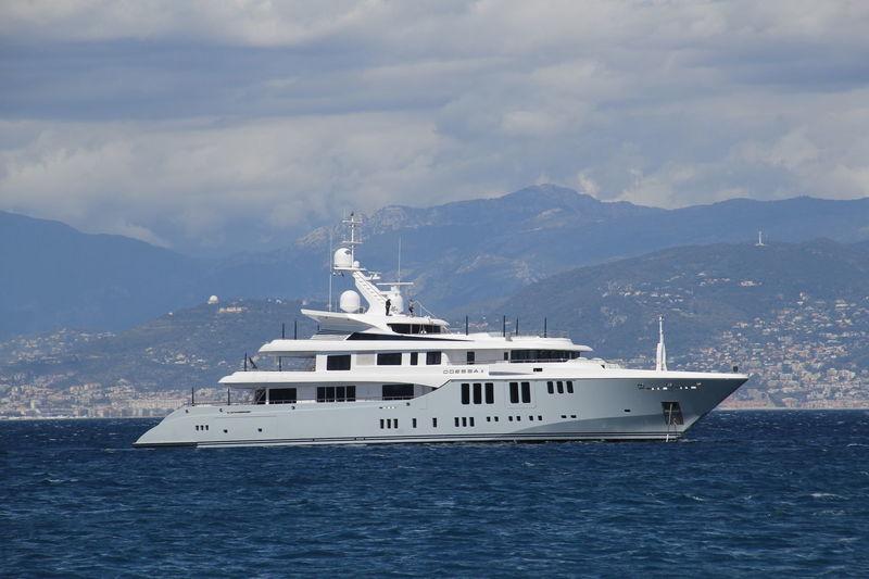 Odessa II off Cagnes sur Mer