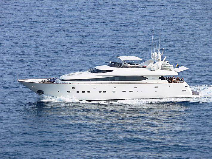 Lady Katana II yacht cruising off Monaco