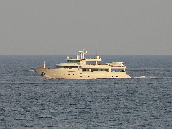 AQUARIUS IV yacht Carp Navi