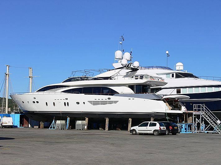Tethys yacht in Saint-Mandrier