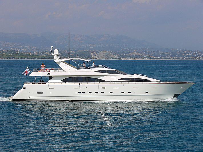 HAPPY SPIRIT yacht Azimut