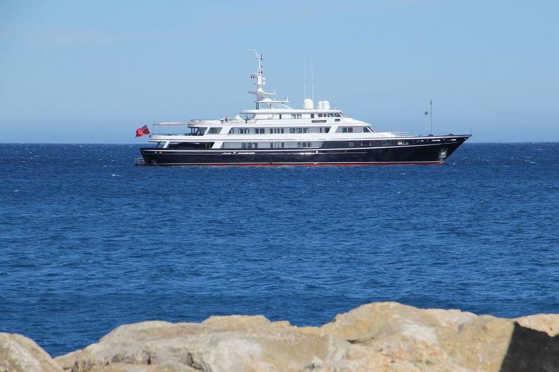 Virginian off Antibes