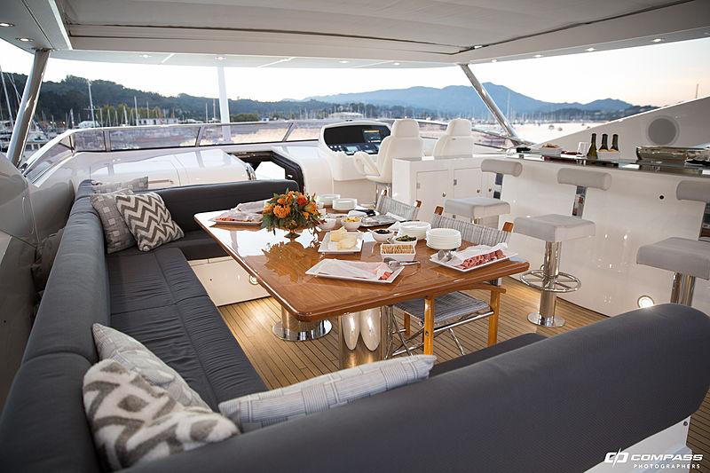 Emrys yacht sky lounge