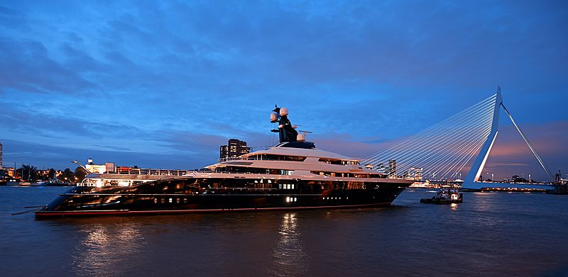 Equanimity yacht in Rotterdam