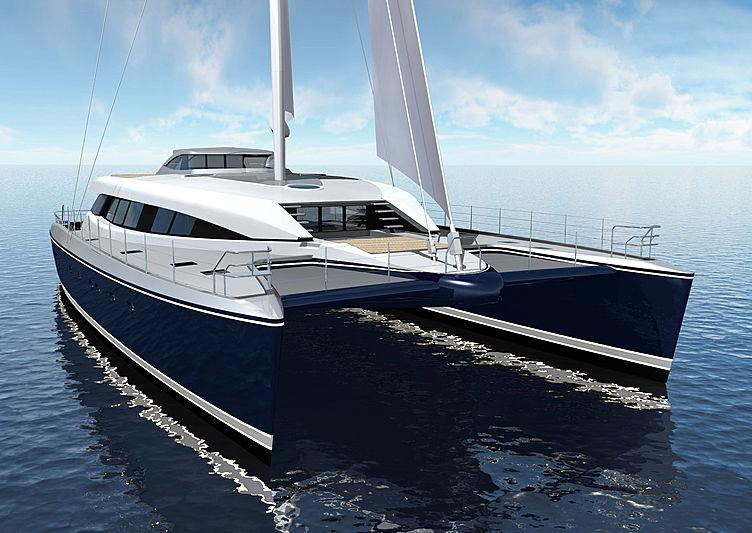 Q5 yacht exterior rendering