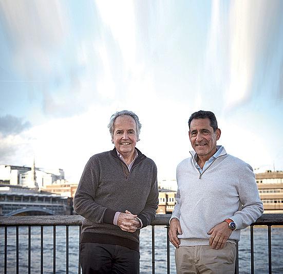 Peter Wilson and Nigel Ingram
