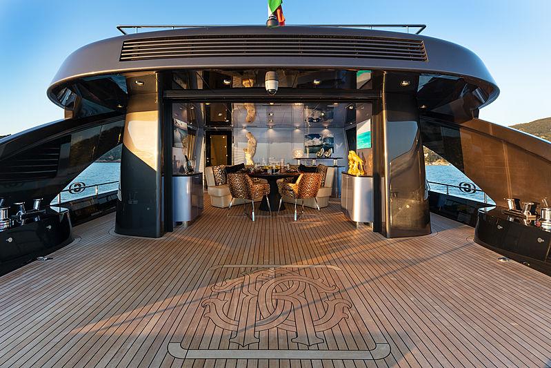 Freedom yacht aft deck