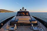 Freedom yacht foredeck