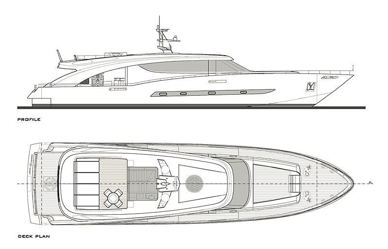 Freedom yacht layout