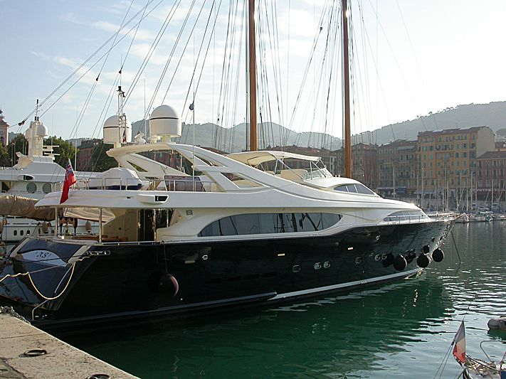 XS of London yacht in Nice