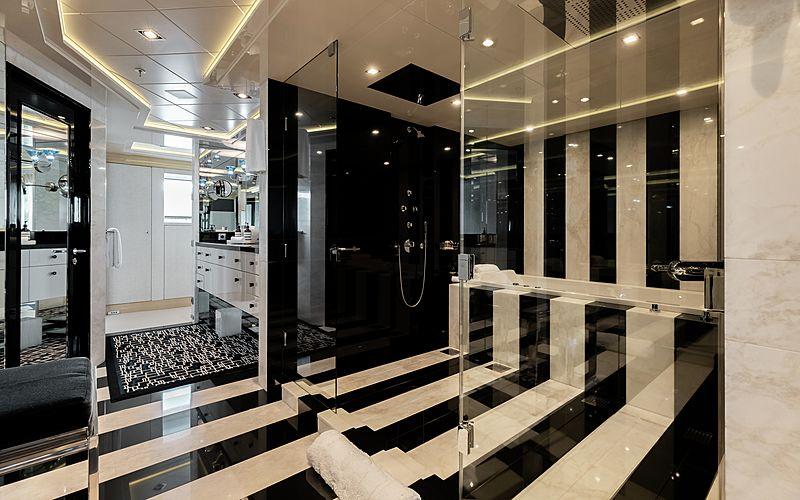 Secret yacht master's bathroom