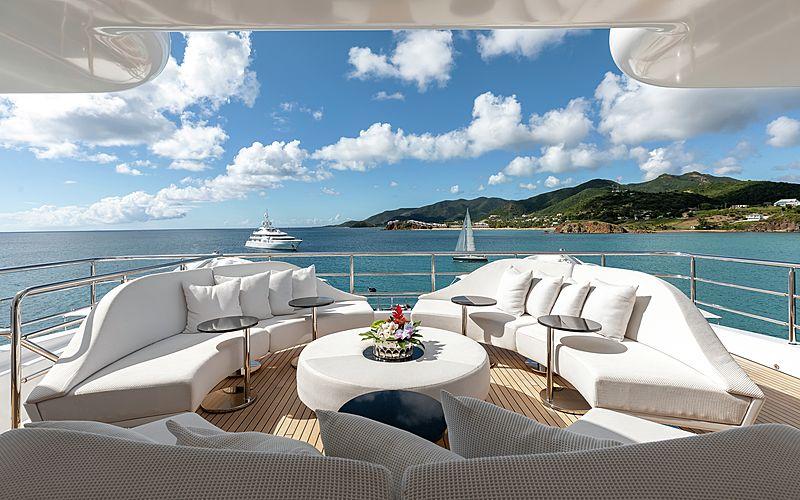 Secret yacht deck
