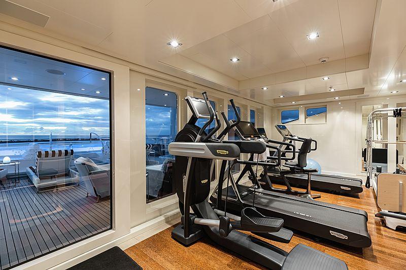 Secret yacht fitness