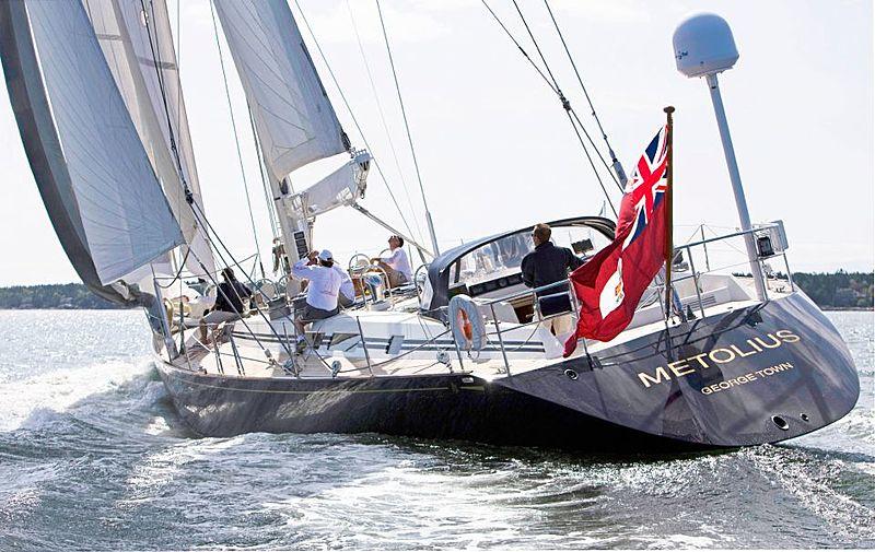 METOLIUS  yacht Royal Huisman