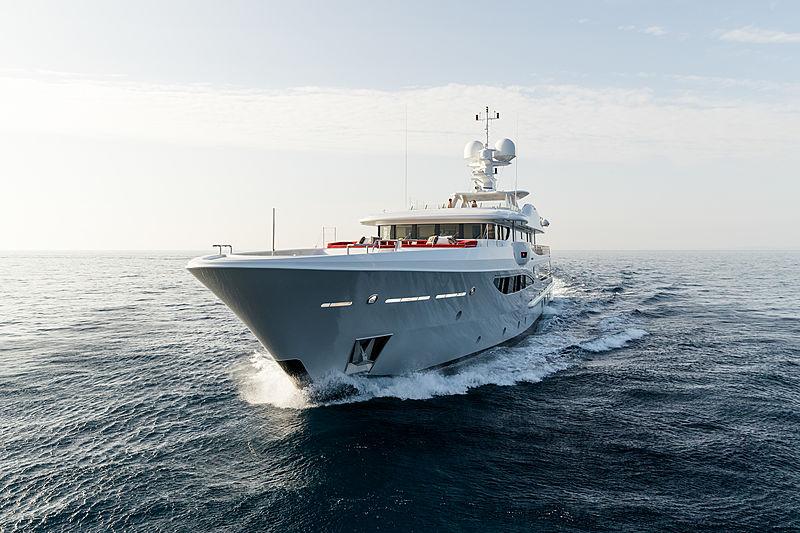 Grace yacht cruising