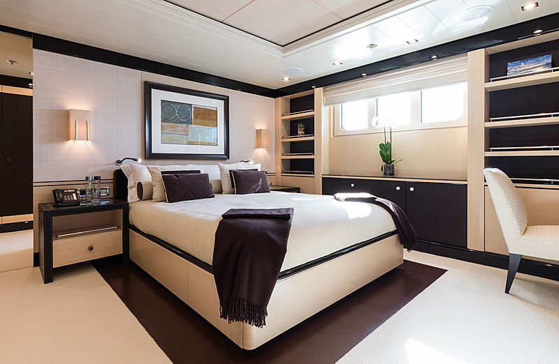 Grace yacht guests's cabin