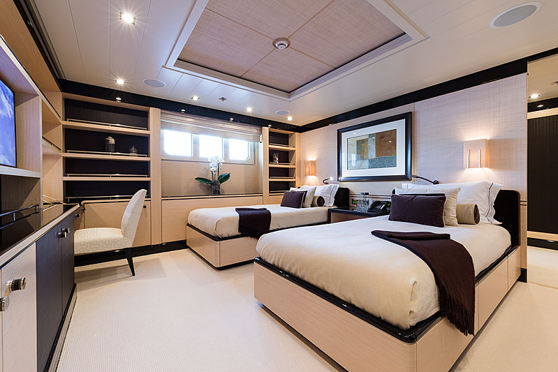 Grace yacht double bedroom