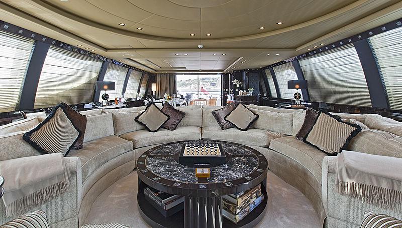 Rush yacht main saloon