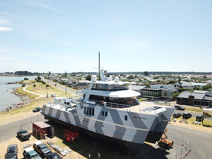 The Beast explorer yacht in Palmerston North