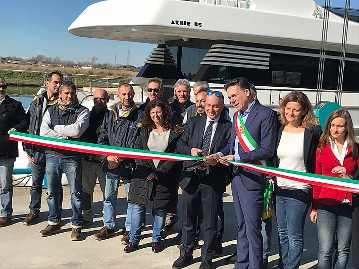 Cantieri di Pisa reopening after being acquired