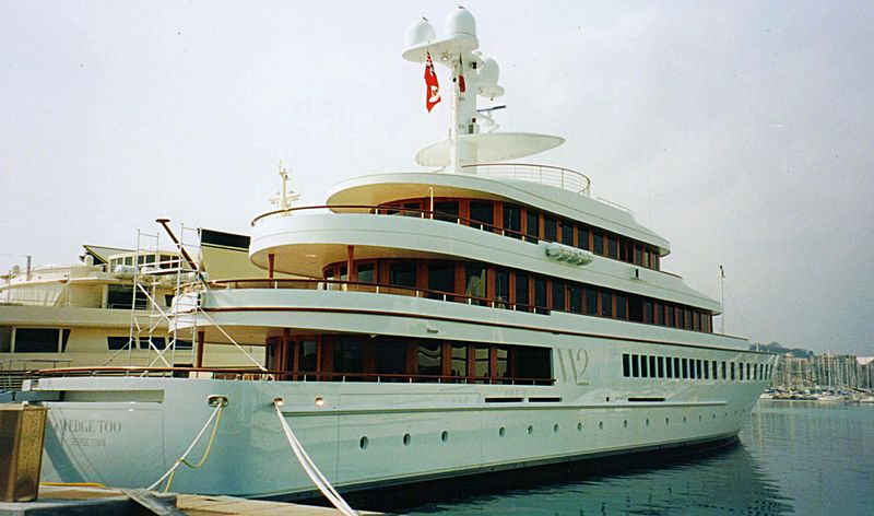 Wedge Too Yacht in Antibes