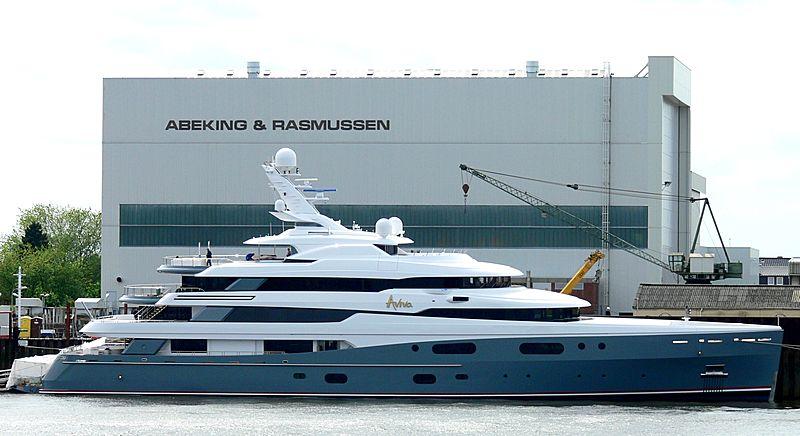 Aviva yacht in Lemwerder