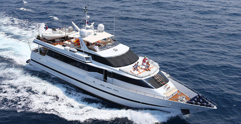 HEARTBEAT OF LIFE yacht Heesen