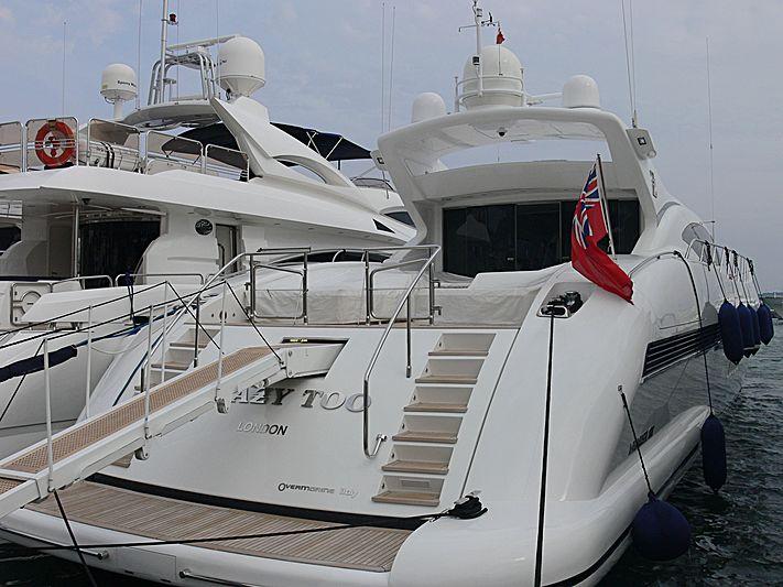 CRAZY TOO yacht Overmarine