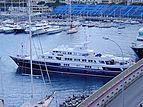 Virginian yacht in Port Hercule