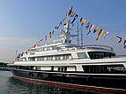 Virginian yacht in Antibes