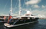 Yacht Galileo G by Perini Navi in Sardinia