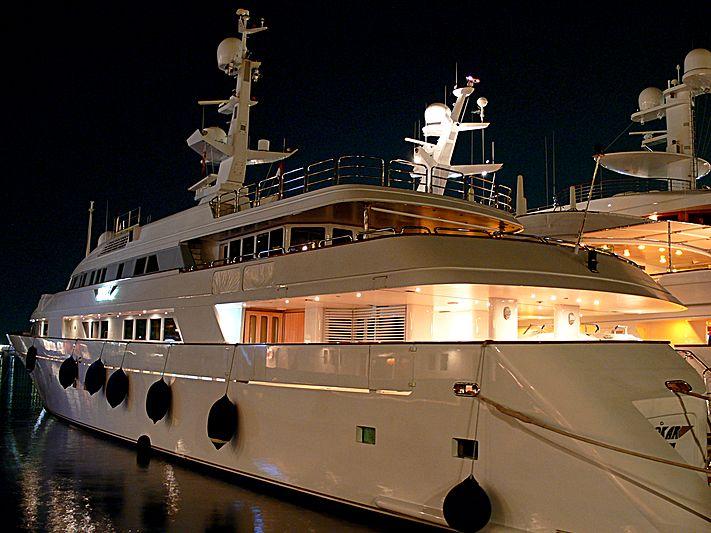 Sokar yacht in Port Hercule