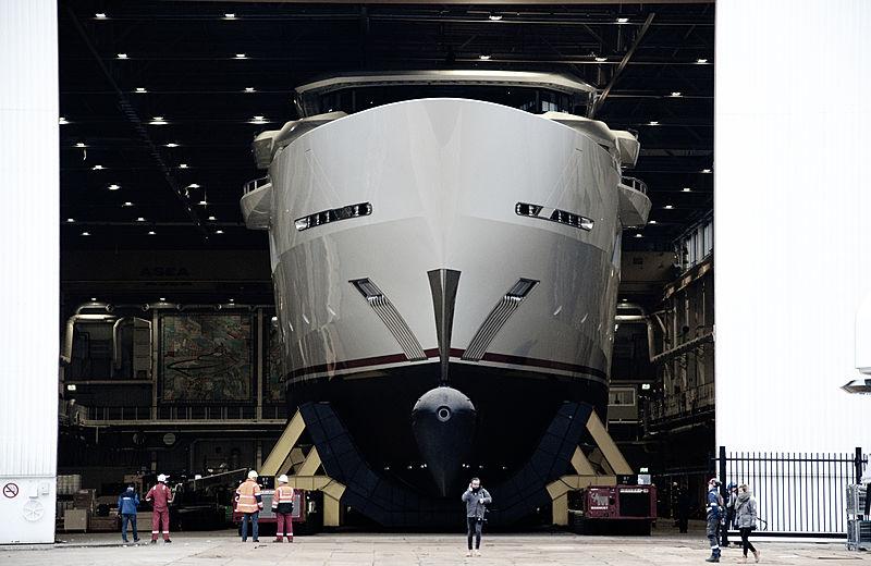 Yacht Y716 Oceanco yacht in Ablasserdam