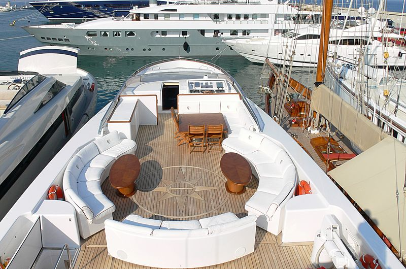 Paragon yacht deck