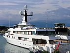 White Cloud yacht in Antibes