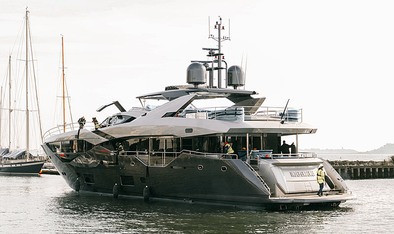 INDEPENDENCE yacht Sunseeker