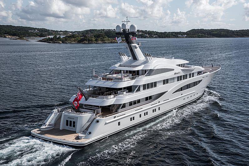 Areti yacht cruising