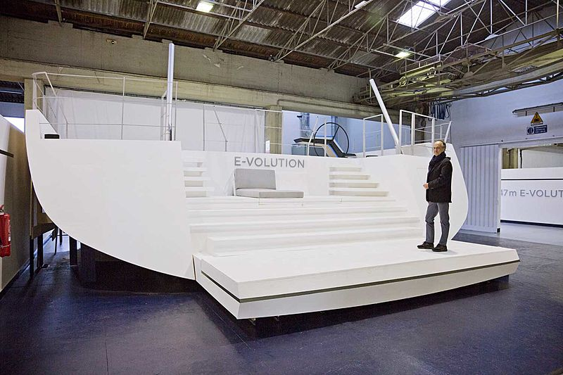 Perini Navi E-volution 42m sailing yacht model
